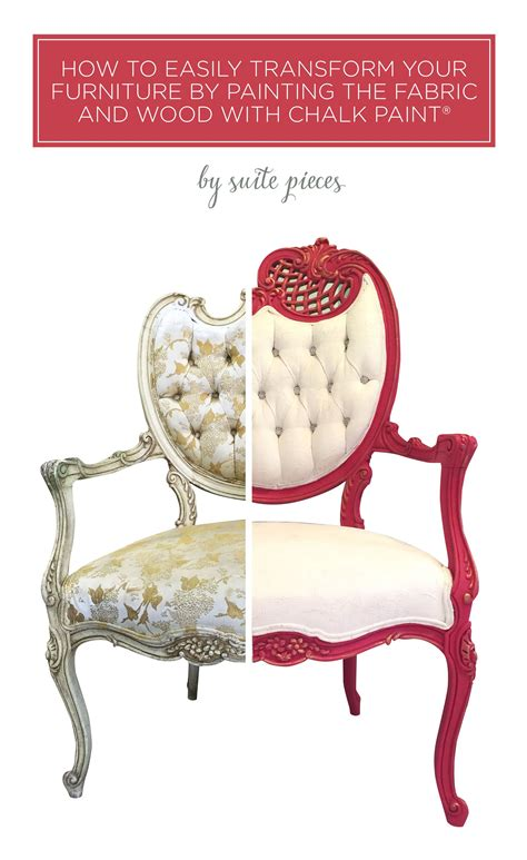 Tutorial How to Paint Upholstery Fabric and Completely