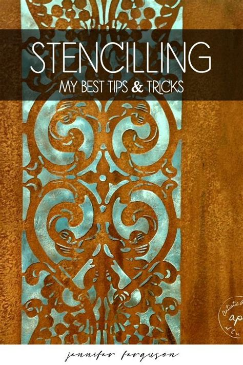 Tutorial how to stencil walls tips and tricks for wall