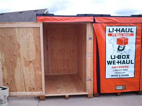 U Haul U Box Containers for Moving Storage