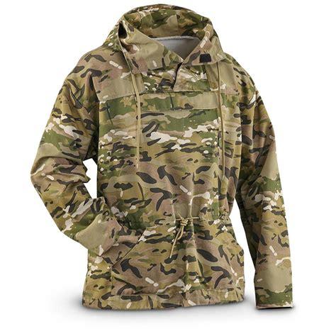 U S Military Surplus Men s OCP Camo Anorak Jacket New