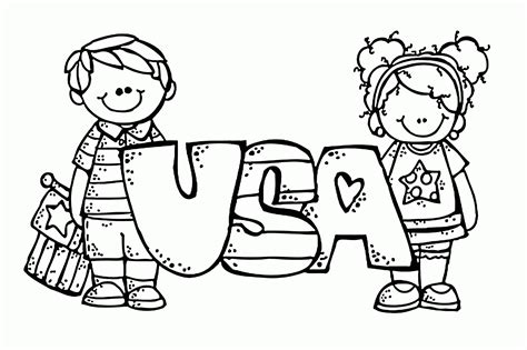 USA Coloring Pages Coloring Book Pages for the States