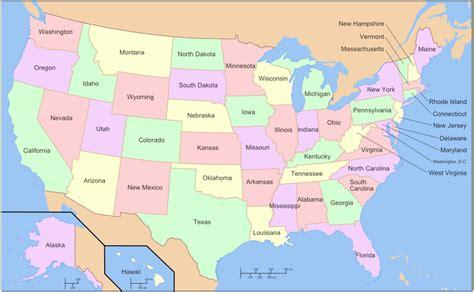 USA Location information USA