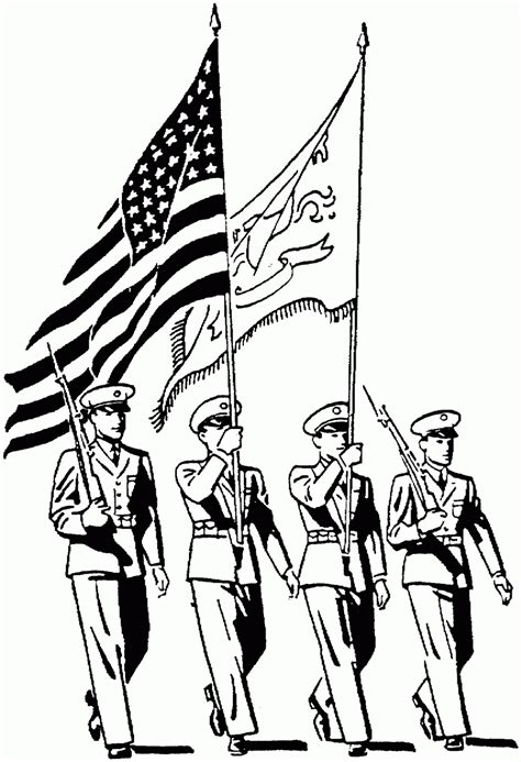 USA Printables Armed Forces Day Coloring Pages US