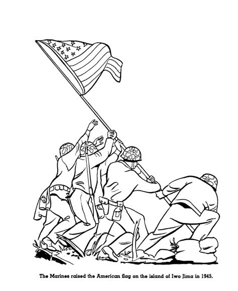 USA Printables US History Coloring Pages Famous US