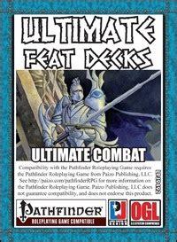 Ultimate Combat Feats Paizo