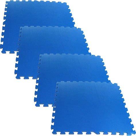 Ultimate Comfort Blue 24 in x 24 in Foam Garage Floor 4
