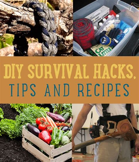 Ultimate Survival Hacks DIY Projects Craft Ideas How To
