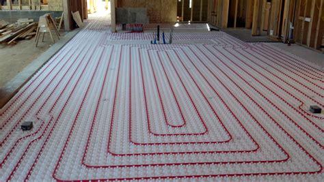 Ultimate Underfloor Heating Supply installation and