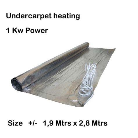 Undercarpet Heating underfloor heating thermostats