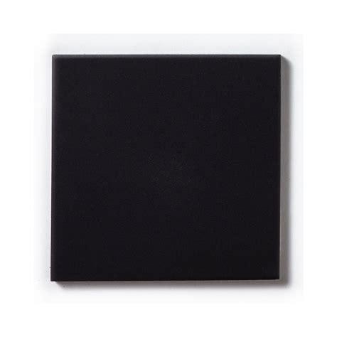 Unglazed Black Quarry 14 8cm x 14 8cm Floor Tile