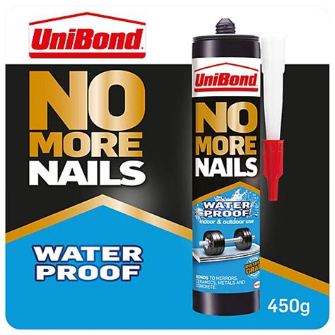 UniBond No More Nails Waterproof Cartridge 300ml Wickes