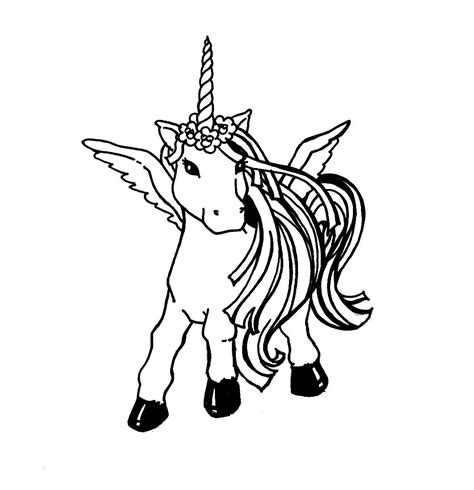 Unicorns Coloring Pages for Kids Free Printable Coloring