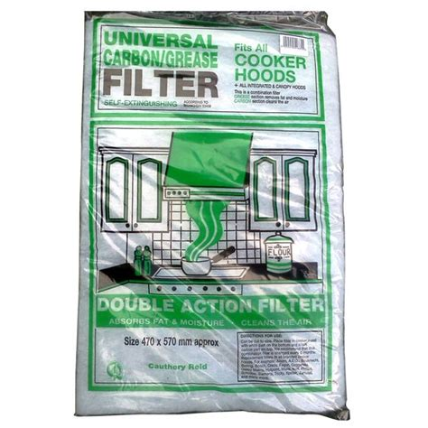 Universal Carbon Grease Filter Dunelm