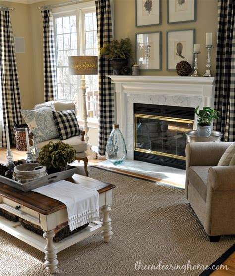 Updated Family Room Tour The Endearing Home