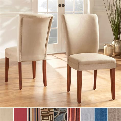 Upholstered Dining Room Chairs Overstock