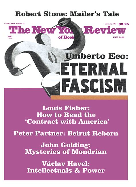 Ur Fascism by Umberto Eco The New York Review of Books
