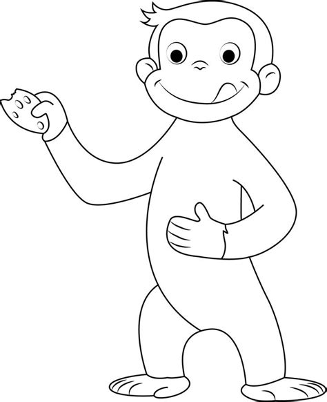 Use Curious George Literacy Activities and Coloring Pages