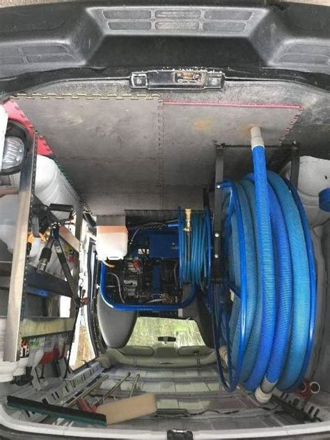 Used Carpet Cleaning Truck Mounts and Carpet Cleaning Vans