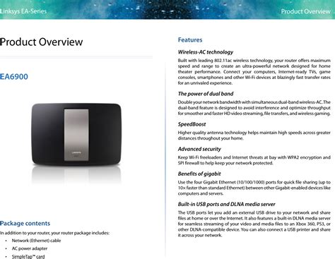 User Guide Linksys Linksys Wireless Routers Range