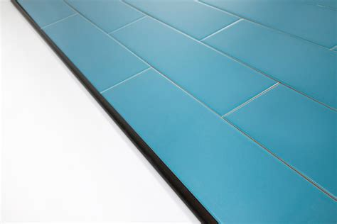 Using Schluter Trim Profiles With Subway Tile Wood Tile