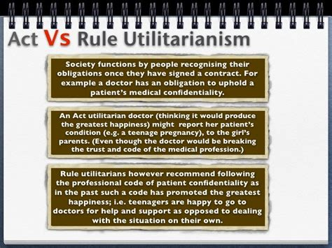 Utilitarianism Act and Rule Internet Encyclopedia of