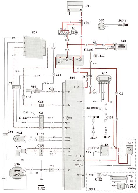 volvo 940 wiring diagram radio images 1995 volvo 850 wiring volvo 940 1993 wiring diagrams autoelectric ru