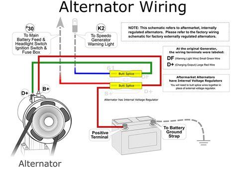 dynamo to alternator conversion wiring diagram images vw generator to alternator conversion wiring diagram