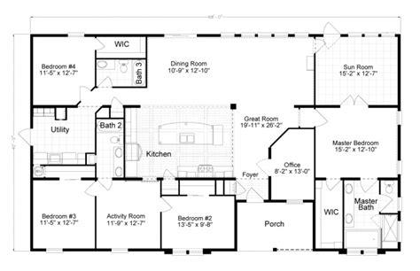 Vacation Homes Modular Floor Plans