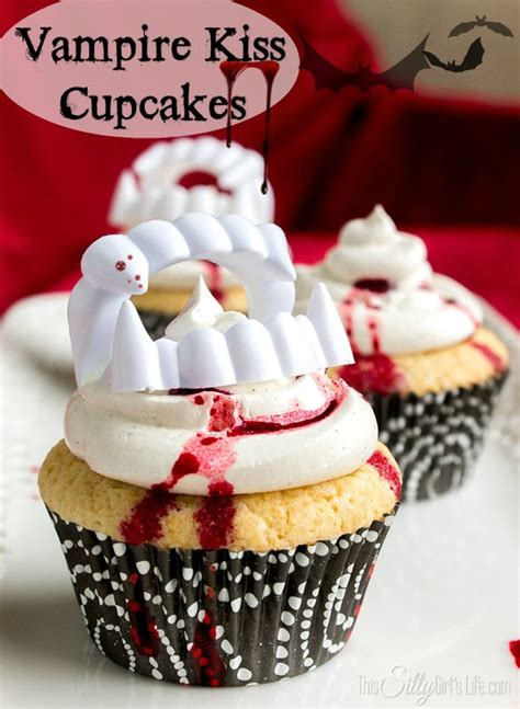 Vampire Kiss Cupcakes This Silly Girl s Kitchen