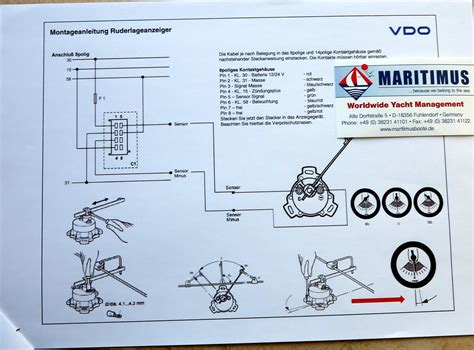 vdo rudder angle indicator wiring diagram images vdo rudder angle vdo rudder angle indicator wiring diagram engine