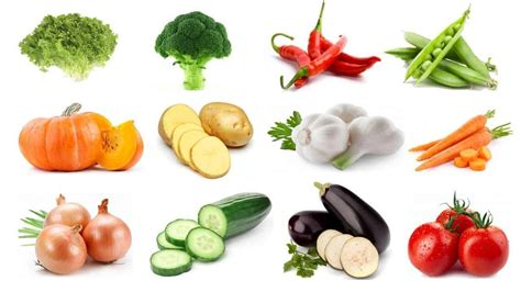 Vegetables with Pictures for Kids KidsFront