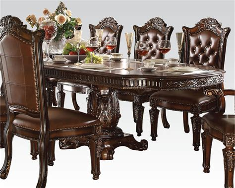 Vendome Dining Table Cherry by ACME Furniture Depot
