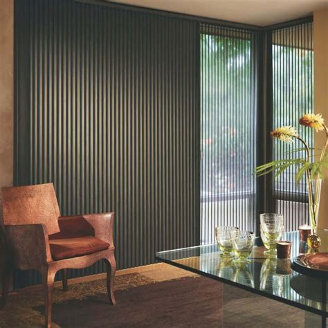 Vertical Cellular Shades at Blinds
