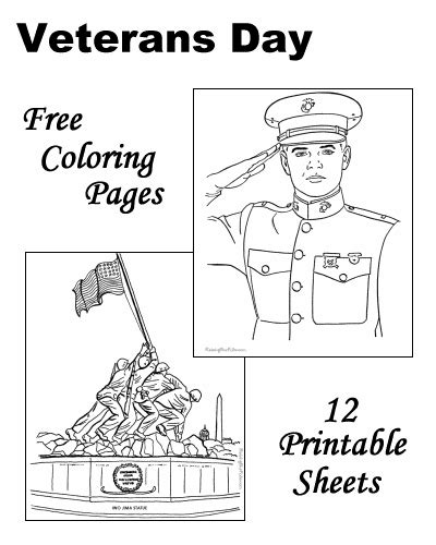 Veterans Day Coloring Pages Raising Our Kids