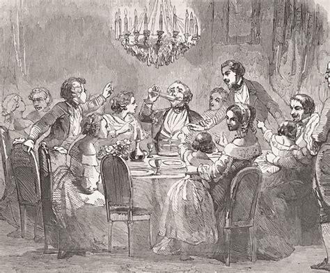 Victorian Etiquette Etiquette at Dinner