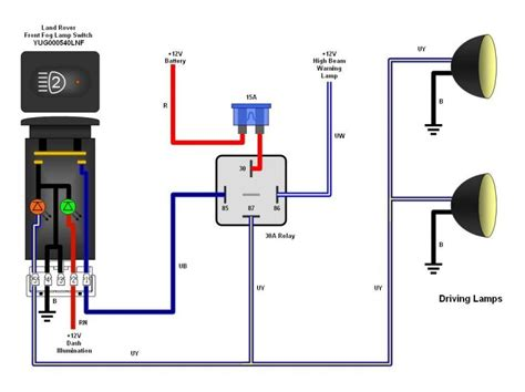 View topic Spotlights wiring to high beam help