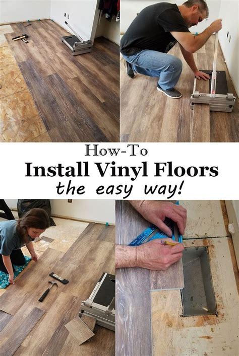 Vinyl Flooring Installation How to Install DIY by
