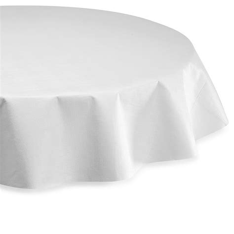 Vinyl Table Pad in White Bed Bath Beyond