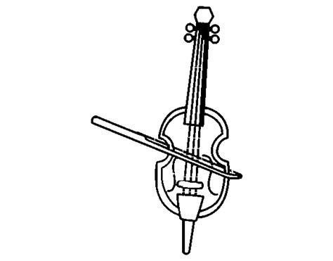 Violin coloring page Coloringcrew