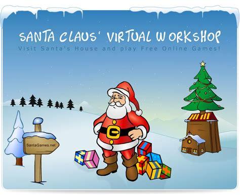 Visit Santa Claus virtual workshop Play Free Online Games