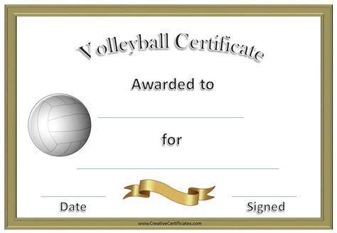 Volleyball Award Certificate Maker Basketball Practice Plans