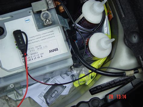 WARNING Only charge the battery from Bimmerfest
