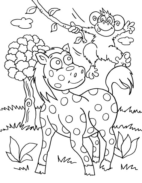 WILD ANIMAL coloring pages 129 all the Wild ANIMALS of