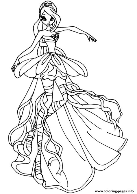 WINX CLUB coloring pages 85 online toy dolls printables