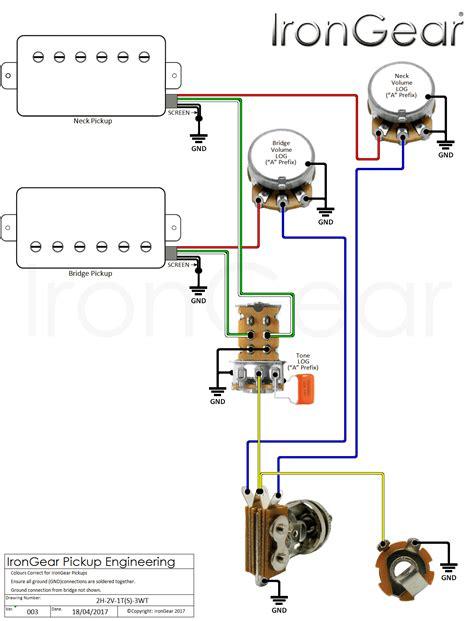 wiring diagrams guitar pickups images diagrams 2 volumes one tone wiring diagrams irongear guitar pickups