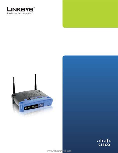 WRT54G user guide UBI