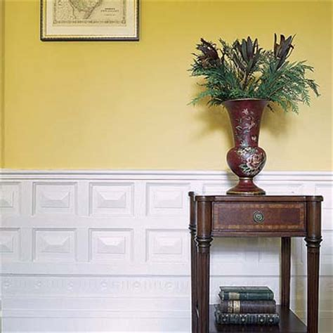 Wainscoting Designs Layouts and Materials This Old House