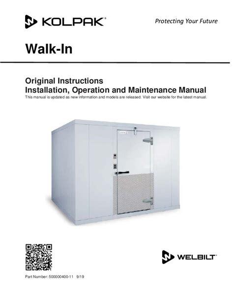walk in zer wiring diagram images walk in unit installation operation manual kolpak