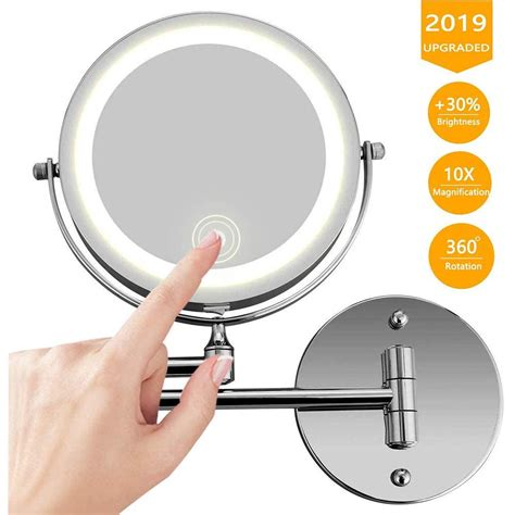 Wall Mounted Makeup Mirrors Magnifying Lighted More
