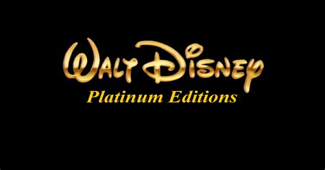 Walt Disney Platinum Editions Disney Wiki FANDOM